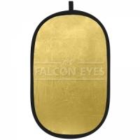 Отражатель на пружине Falcon Eyes Отражатель RFR-3648G прямоугольный. Размер 92х122 см.