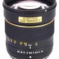 Объектив Samyang 85mm f/1.4 Olympus 4/3 (chip)