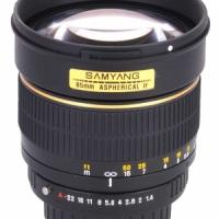 Объектив Samyang 85mm f/1.4 Pentax