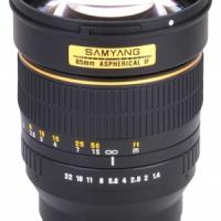 Объектив Samyang 85mm f/1.4 Samsung NX