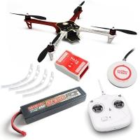 DJI F450 ARF kit + Naza M Lite + GPS + Landing skid + DT7 + аккум. 6000 mah