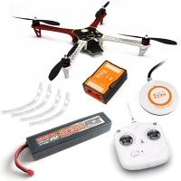 DJI F450 ARF kit + Naza M V2 + GPS + Landing skid + DT7 + аккум. 6000 mah