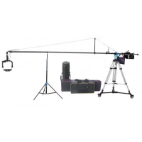 Комплект крана Proaim 22ft Fly Jib Crane, 100mm Tripod Stand, Sr. Pan Tilt Head, Portable Dolly (Production Package)