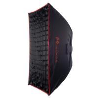 Софтбокс Falcon Eyes SBQ-9090 BW жаропрочный с сотовой насадкой