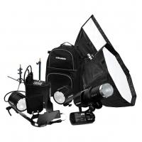 Комплект ProFoto B1/B2 Universal Pro Kit с 1 моноблоком и 2 генераторными головами 903129-1
