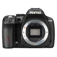Зеркальная камера Pentax K-50 body черный