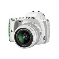 Зеркальная камера Pentax K-S1 + объектив DA L 18-55 белый