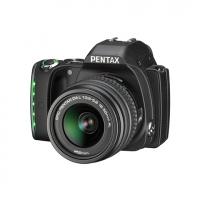 Зеркальная камера Pentax K-S1 + объектив DA L 18-55 черный