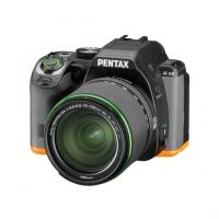 Зеркальная камера Pentax K-S2 + объектив DA 18-135 WR черный/оранжевый