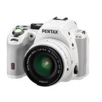 Зеркальная камера Pentax K-S2 + объектив DA 18-50mm DC WR, белый