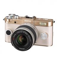 Фотокамера Pentax Q-S1 GOLD + зум-объектив 5-15 мм