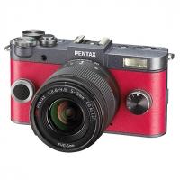 Фотокамера Pentax Q-S1 красный + зум-объектив 5-15mm