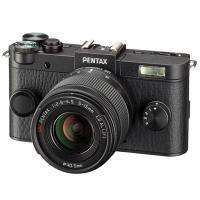 Фотокамера Pentax Q-S1 черный + зум-объектив 5-15 мм