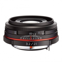 Объектив Pentax HD DA 21мм f/3.2 AL Limited black