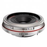 Объектив Pentax HD DA 40мм f/2.8 Limited Silver