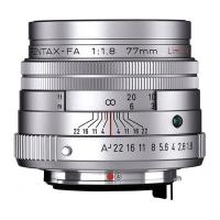 Объектив Pentax SMC FA 77mm f/1.8 Limited Silver