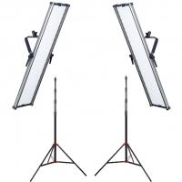 Комплект видеосвета LED GreenBean Double UltraKit 2x1806 LED