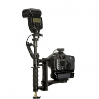 Крепление Lastolite LA2408 Camera bracket угловой кронштейн для камеры и фотовспышки,