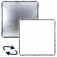 Отражатель на раме Lastolite LR82231R отражатель серебряный/белый Skylite 200х200