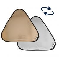 Отражатель на пружине Lastolite LR3728 золотистый/мягкое серебро 120 см