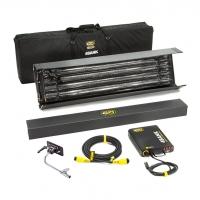 Комплект Kinoflo 4ft 4Bank Enhanced Kit w/ Soft Case, Univ 230U KIT-484BE-230U