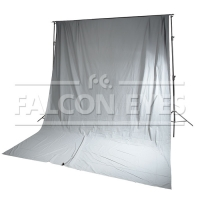 Тканевый фон Falcon Eyes FB-08 FB-3060 серый (бязь) 3x6 м