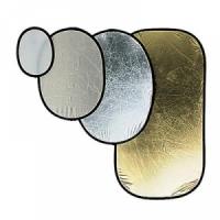 Отражатель на пружине Avenger I6234 SILVER/GOLD 120X185 O. REF