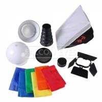 Насадка Falcon Eyes FGA-K7 Комплект насадок для накамерных вспышек