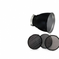 Комплект насадок Bowens Рефлектор 60° с 3 сотовыми фильтрами BW-1865