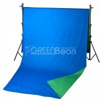 Фон GreenBean Field  2.4 х 5.0 B/G Тканевый хромакей