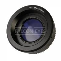 Falcon Eyes Кольцо переходное M42 на Nikon с линзой