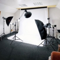 PhotoProCenter Studio Kits Портретный набор на основе Bowens/Falcon Eyes, фотостудия №11