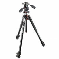 Штатив Manfrotto MK190XPRO3-3W 190 ALU 3 SECTION KIT 3W HEAD