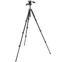Штатив Manfrotto MK294A4-D3RC2 ALU TRIPOD BLK WITH 3W HEAD